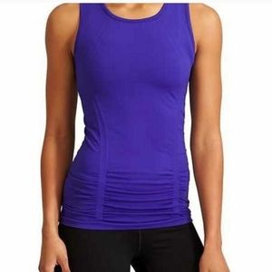 Athleta Blue Fastest Track Muscle Tank Top small